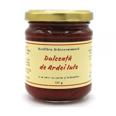 Dulceata de Ardei Iute Bucataria Brancoveneasca 220g