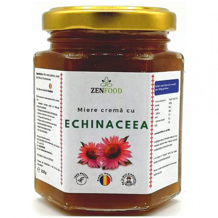 Miere Naturala Crema cu Echinaceea ZenFood