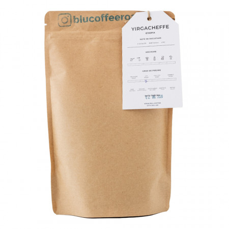 Cafea Boabe ETIOPIA Blu Coffee 250g 100%Arabica