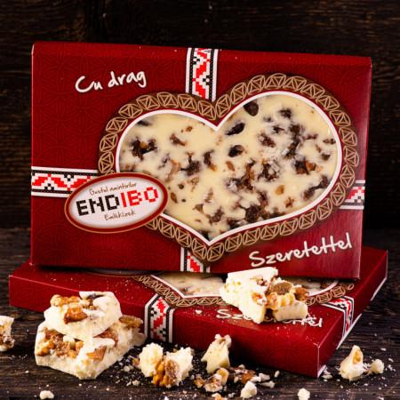 Ciocolata de casa cu Lapte, Rom si Fructe Uscate END-IBO 0,5kg0,5kg