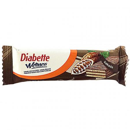 Napolitane cu crema de Cacao Diabette FARA ZAHAR