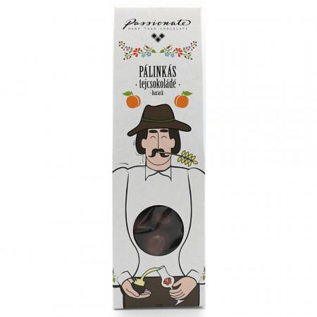 Praline de Ciocolata cu Palinka de Piersici