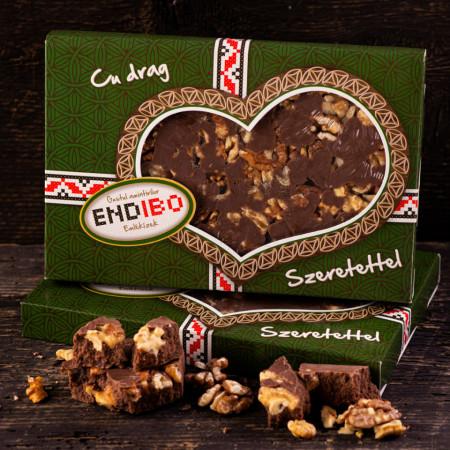 Tableta Ciocolata cu Nuca END-IBO 0,5kg