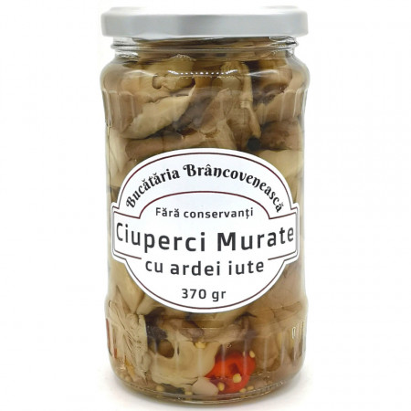Ciuperci Murate cu Ardei Iute Bucataria Brancoveneasca 370g