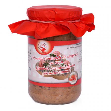 Crema sandwich de Ciuperci cu Rosii Julia 314ml