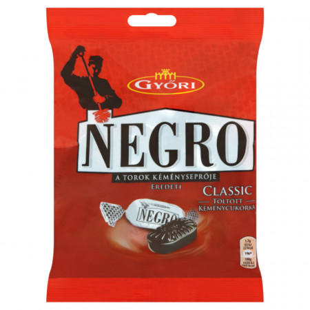 Bomboane Mentolate Classic Negro