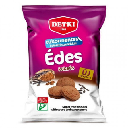 Biscuiti Dietetici cu Ciocolata DETKI FARA ZAHAR