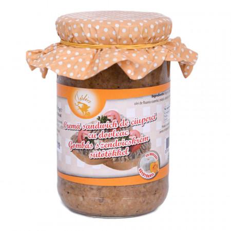 Crema sandwich de Ciuperci cu Dovleac Julia 314ml