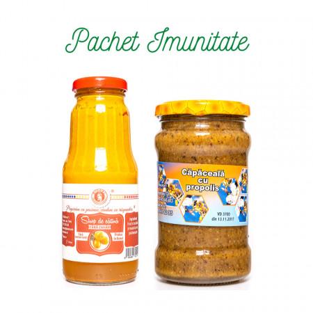 Pachet Imunitate Sirop Catina fara zahar + Capaceala cu propolis