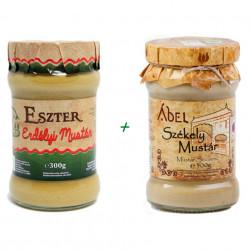 Pachet Mustar Natural Ardelenesc Iute + Mustar Natural Secuiesc Dulce