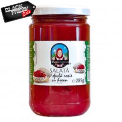 Salata de Sfecla Rosie cu Hrean 314ml Vasluianca