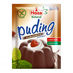 Budinca de Ciocolata Haas FARA GLUTEN