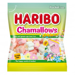 Jeleuri HARIBO CHAMMALLOWS FLOWERS