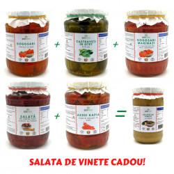 Pachet 5 Muraturi cu Salata de Vinete CADOU