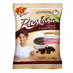 Terci de Orez cu Ciocolata Neagra FIT