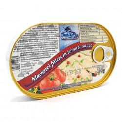 Macrou File in sos de Tomate 170g Silvania Fish