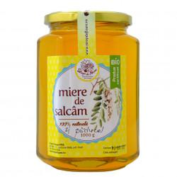 Miere de Salcam si Paducel BIO Strop de Floare 1kg