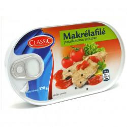 Macrou File in sos de Tomate 170g Classic Fish