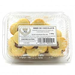 Prajitura Inima de Ciocolata Korona 300g