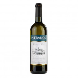 Vin Alb Riesling de Rhin Plebanos demisec