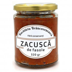 Zacusca cu Fasole Bucataria Brancoveneasca
