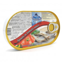 Sprot in sos de Tomate 170g Silvania Fish