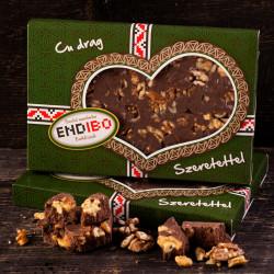 Ciocolata de casa cu Nuca END-IBO 0,5kg