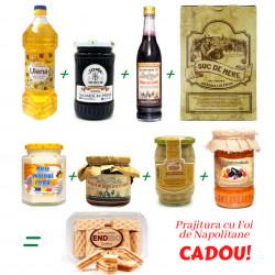 Pachet 8 Alimente de baza cu Prajitura CADOU