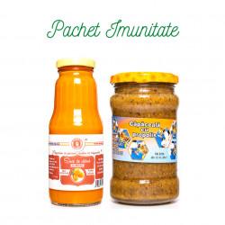 Pachet Imunitate Sirop Catina cu miere + Capaceala cu propolis