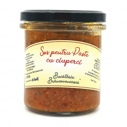 Sos pentru Paste cu Ciuperci Bucataria Brancoveneasca 314ml