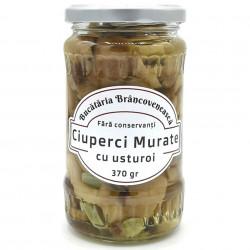 Ciuperci Murate cu Usturoi Bucataria Brancoveneasca 370g