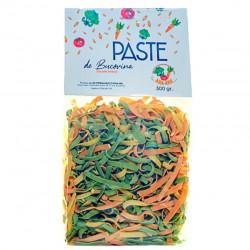 Paste pentru Pitici Voinici cu Legume BIO Paste de Bucovina 500g