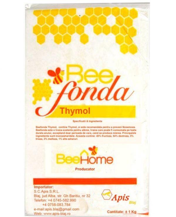 Turta albine BeeFonda cu thymol 1 kg