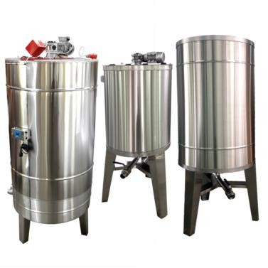 Bazin pentru miere 2000KG cu omogenizator si capac