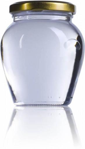 Borcan pentru ambalat mierea sau alte sosuri 314 ml - Amfora