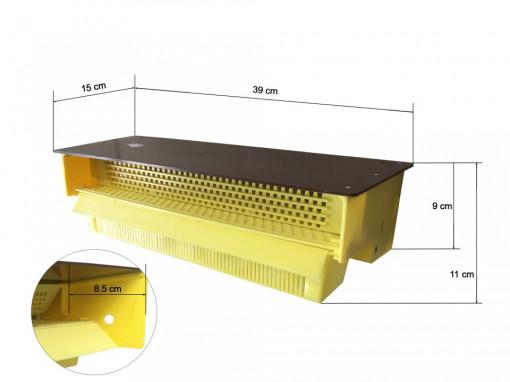 Colector de polen pentru urdinis nedemontabil