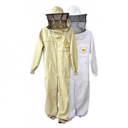 Combinezon apicol din bumbac cu masca Lyson Premium Line