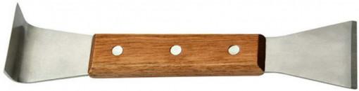 Dalta apicola inox cu maner de lemn 20.5 cm
