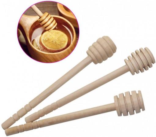 Lingurita din lemn pentru miere