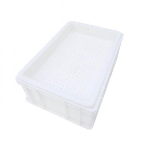 tava de descapacit 20 de cm cu filtru din plastic si suport 2 persoane