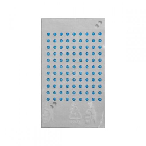 cartela de marcat matcile cu opalit albastru