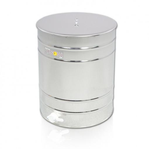 Maturator miere 100 l inox cu canea din plastic Lyson