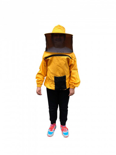 bluza apicola pentru copii galbena