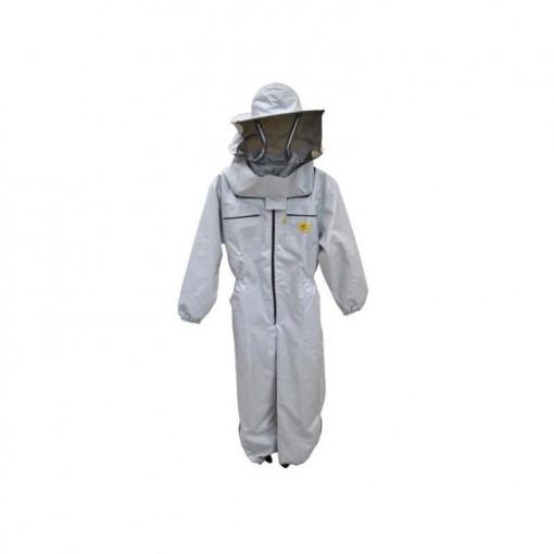 Combinezon apicol din bumbac cu masca dubla Lyson Clasic