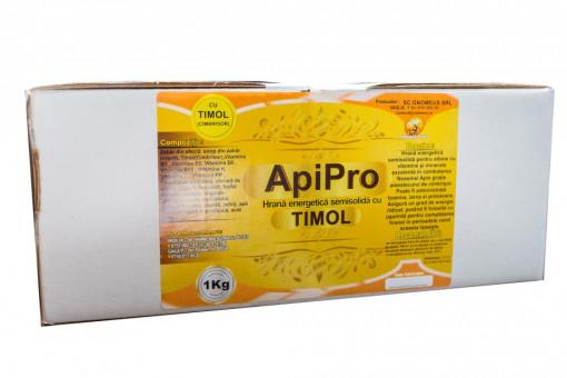 ApiPro cu Timol - hrana solida pentru albine palet 800 kg Transport Gratuit