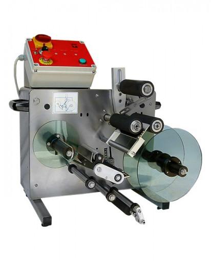 Masina de etichetat borcane semiautomata