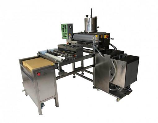 Masina profesionala de prelucrat foite de ceara la cald M1