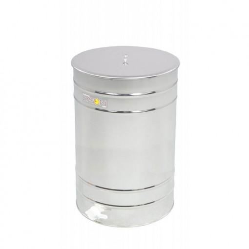Maturator miere 200 l inox cu canea din plastic Lyson
