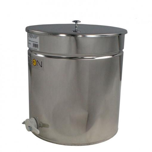 Maturator miere 300 l inox cu canea din plastic Lyson