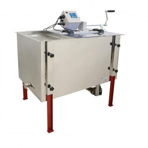 Centrifuga tangentiala electrica si manuala 12v/220V 4 rame 1/1 cu tava de descapacit si filtru pentru miere Lyson